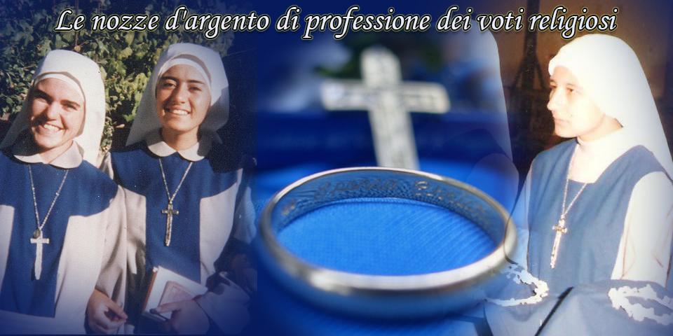 Nozze d'argento di professione dei voti religiosi - SSVM