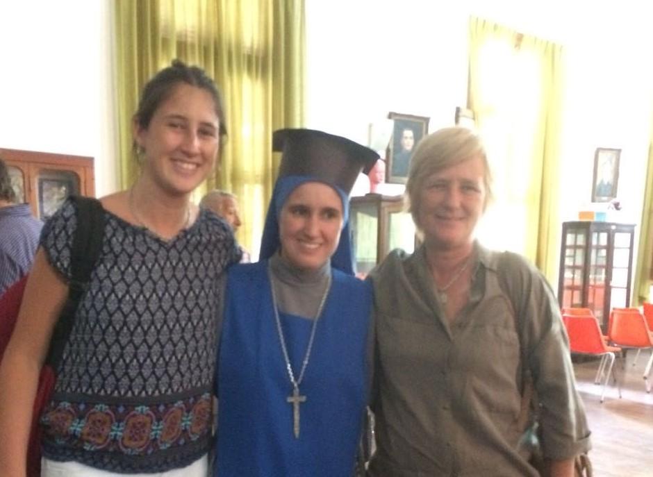 Nueva licenciada en Filosofía, Hermana María de la Vera Cruz Sacheri, SSVM