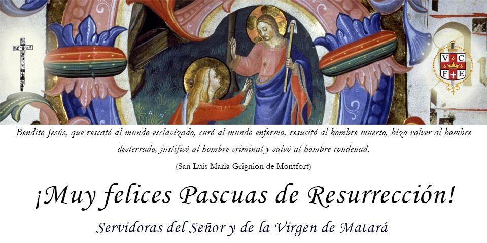 ¡Muy felices Pascuas de Resurrección! - 2020
