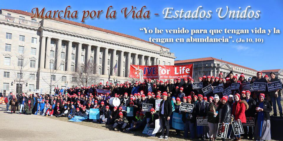 Servidoras - IVE - Marcha por la Vida – Washington, D.C. 2018
