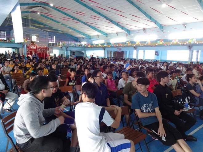 Tercera Jornada de la Juventud en Las Filipinas