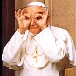 Juan Pablo II y los santos