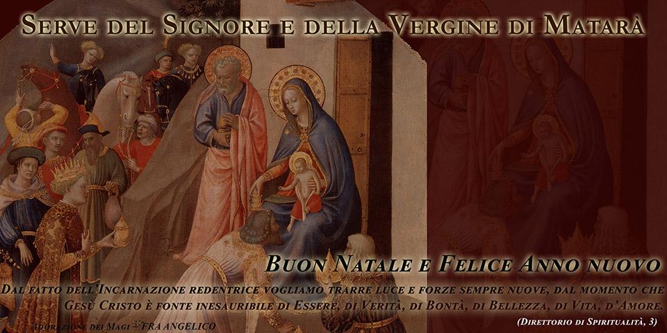 Serve del Signore e della Vergine di Matarà - Auguri di Natale