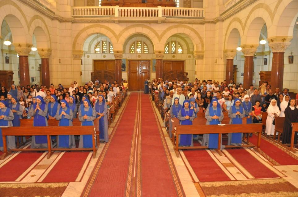 Servidoras - Profesión de los votos perpetuos en Egipto