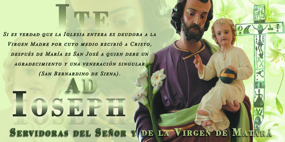 SSVM - Saludos por la Solemnidad de San José