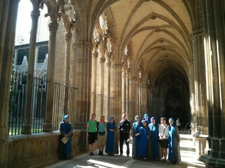 """SSVM en el """"camino"""" - Santiago de Compostela"""