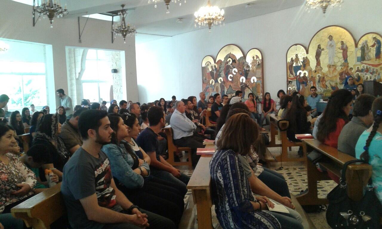 Servidoras - Fiesta de las familias con familias iraquíes en Jordania