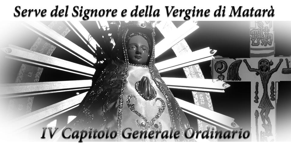 IV Capitolo Generale Ordinario - Serve del Signore e della Vergine di Matarà