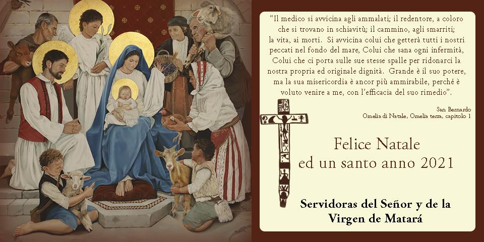 Felice Natale ed un santo anno 2021 - Saluti