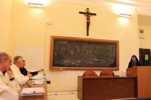 Hna. Aracoeli, defensa de la tesis doctoral
